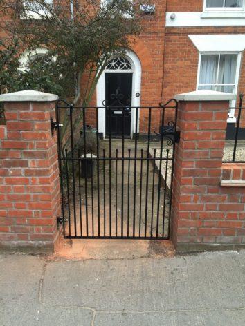 Malthouse gate