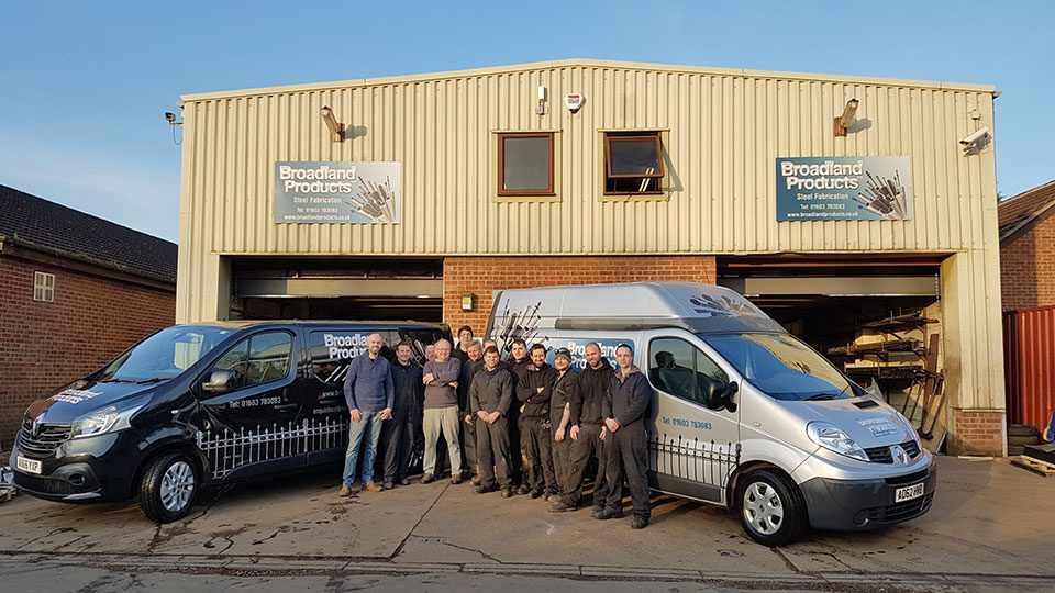 The Broadland Products team