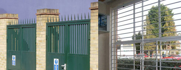Steel Fabricated Security Products
